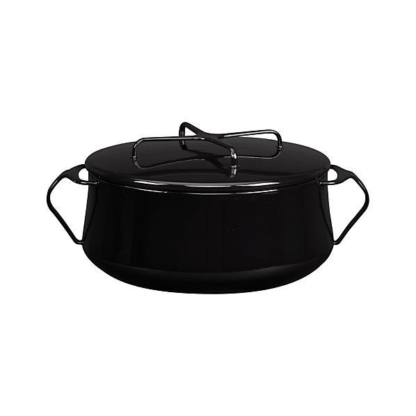 Dansk ® Kobenstyle Black 6-Quart Casserole