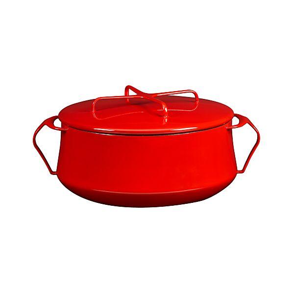 Dansk ® Kobenstyle Red 6-Quart Casserole