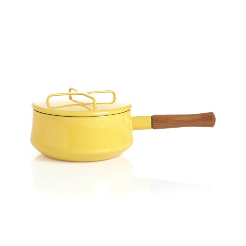 Dansk® Kobenstyle Yellow 2-Quart Sauce Pan