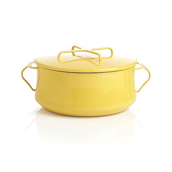Dansk® Kobenstyle Yellow 4-Quart Casserole