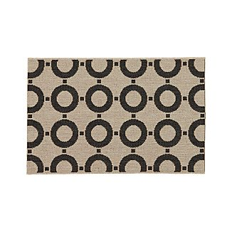 Koen Circles Indoor-Outdoor 2'x3' Rug