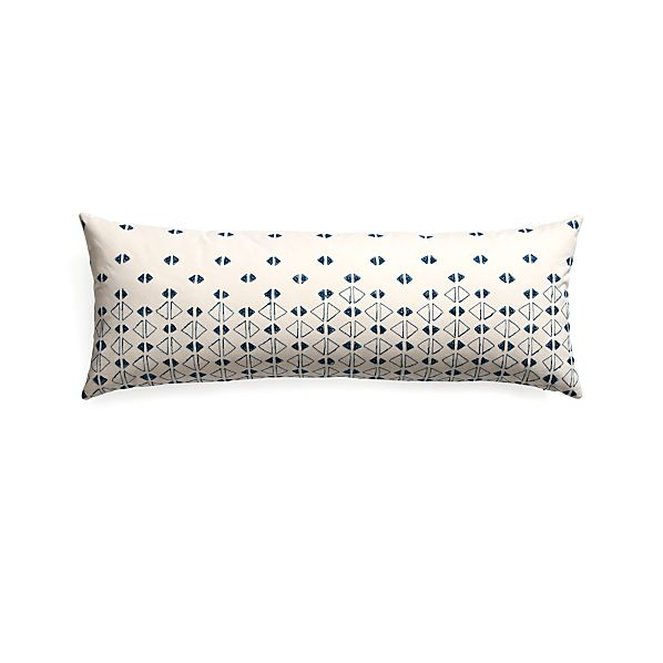 "Kofi 36""x14"" Pillow with Down-Alternative Insert"
