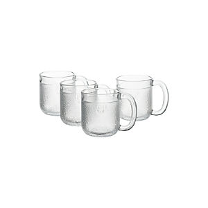 Iittala Krouvi Beer Mugs Set of Four