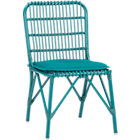 Kruger Harbor Blue Dining Chair with Sunbrella&amp;#174; Cushion.