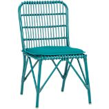 Kruger Harbor Blue Dining Chair with Sunbrella Cushion