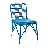 Kruger Turkish Tile Dining Chair with Sunbrella ® Turkish Tile Cushion