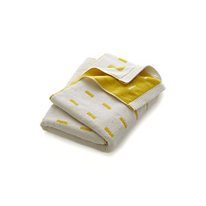 Marimekko Kullervo Citron Bath Towel