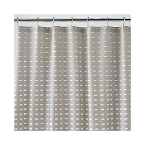 Marimekko Kullervo Grey Shower Curtain