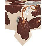 "Marimekko Kumina Neutral 60""x120"" Tablecloth"