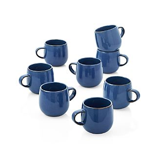 Set of 8 Lake Mugs