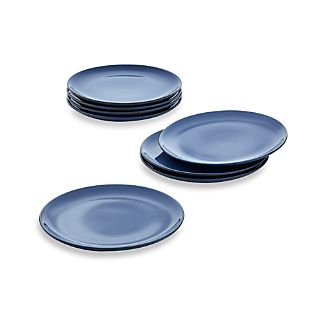 Set of 8 Lake Salad Plates