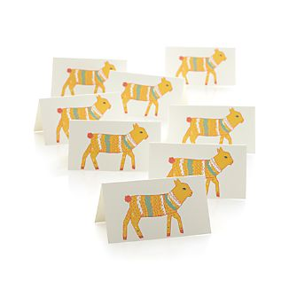 Set of 8 Lamby Placecards