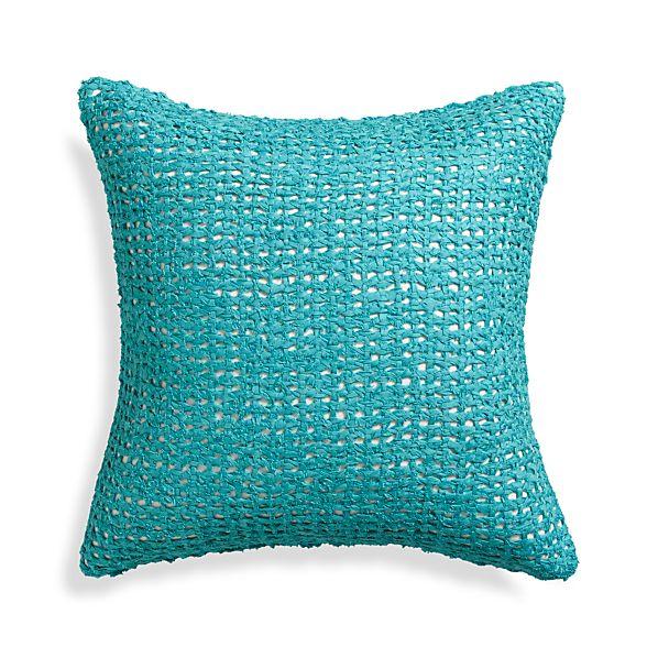 "Lanzo Aqua 18"" Pillow"