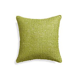 """Lanzo Green 18"""" Pillow"""