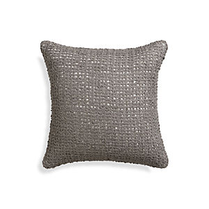 "Lanzo Grey 18"" Pillow"
