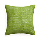 Lanzo Green Pillow with Down-Alternative Insert.