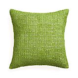 "Lanzo Green 20"" Pillow with Feather Insert"