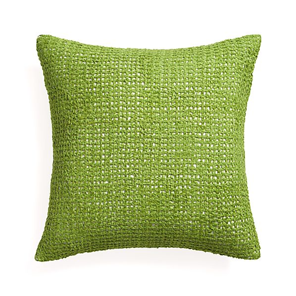 "Lanzo Green 20"" Pillow"