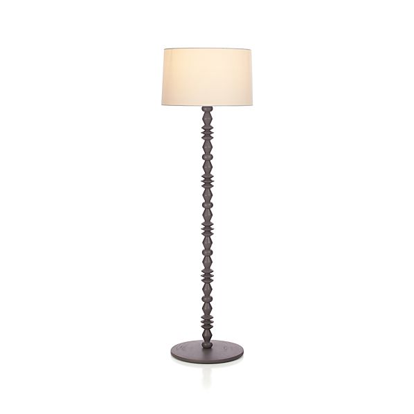 Lapel Grey Floor Lamp