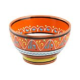 Las Ramblas 6&quot; Orange Footed Bowl