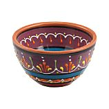 "Las Ramblas 5.25"" Purple Bowl"