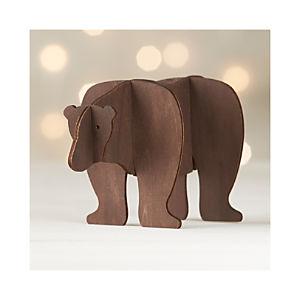 Laser-Cut Bear