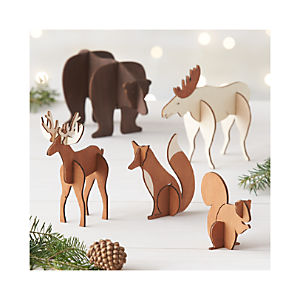 Laser-Cut Animals