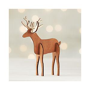 Laser-Cut Deer