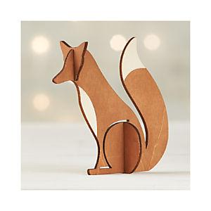 Laser-Cut Fox