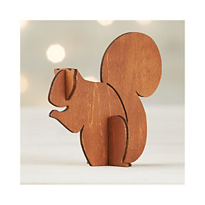 Laser-Cut Squirrel