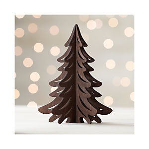 Laser-Cut Dark Tree