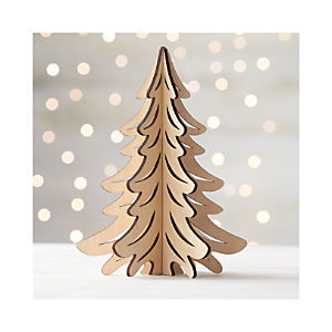 Laser-Cut Natural Tree