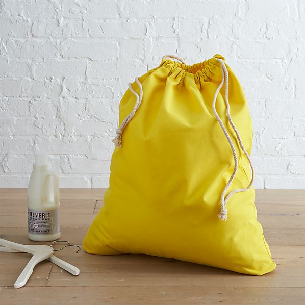 Yellow Laundry Bag