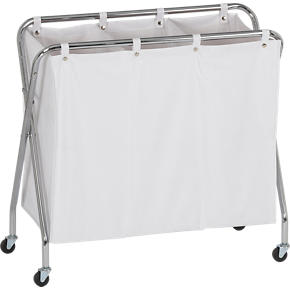 3-Section Laundry Sorter