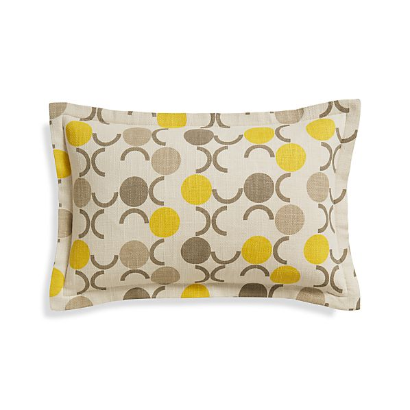 "Laurent 20""x13"" Pillow with Down-Alternative Insert"