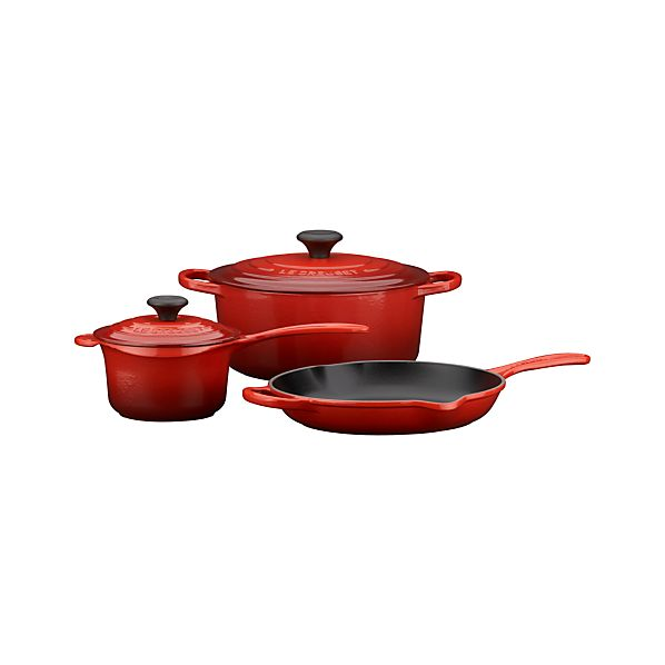 Le Creuset® Cherry 5-Piece Cookware Set
