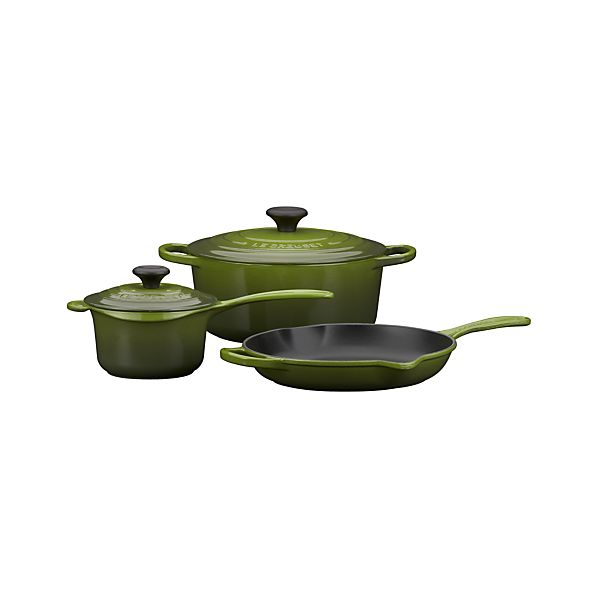 Le Creuset® Spinach 5-Piece Cookware Set