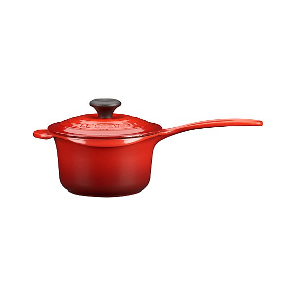 Le Creuset® Cherry 1.25-Quart Saucepan with Lid