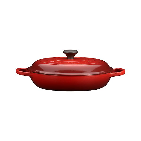 Le Creuset ® Signature 3.5 qt. Cherry Red Everyday Pan