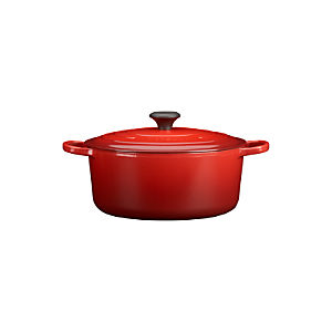 Le Creuset® Signature Round Cherry 7.25 Quart French Oven with Lid