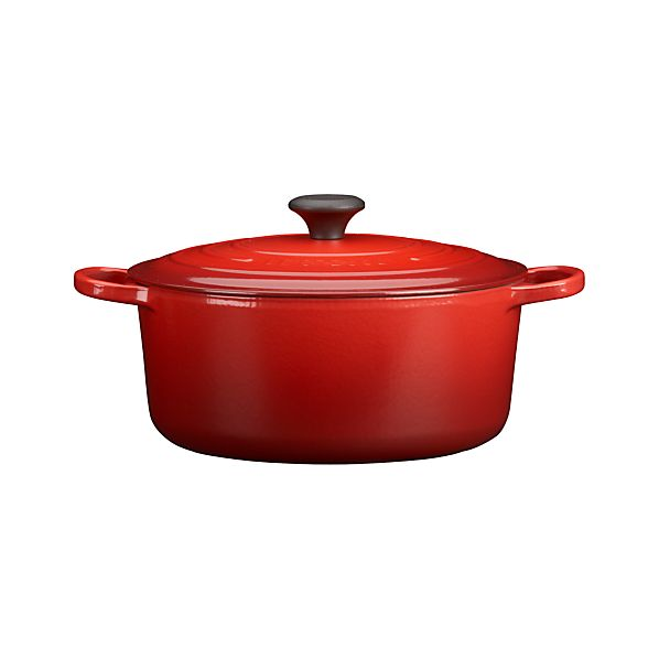 Le Creuset® Signature 7.25 qt. Round Cherry French Oven with Lid