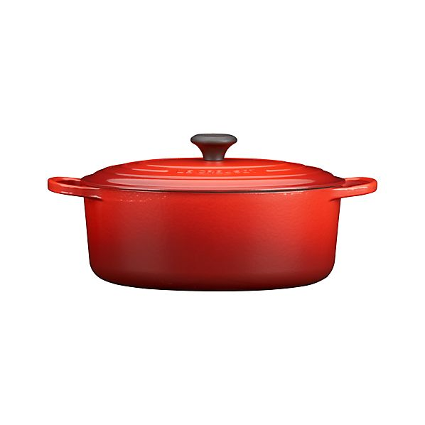 Le Creuset® 6.75 qt. Oval Cherry French Oven with Lid