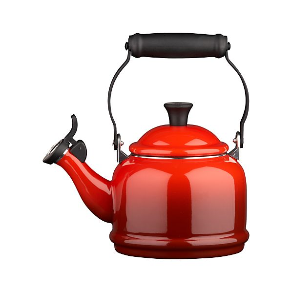 Le Creuset ® 1.25 qt. Demi Cherry Red Teakettle