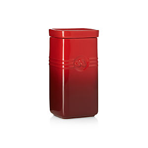 Le Creuset ® Cherry Coffee Storage Jar