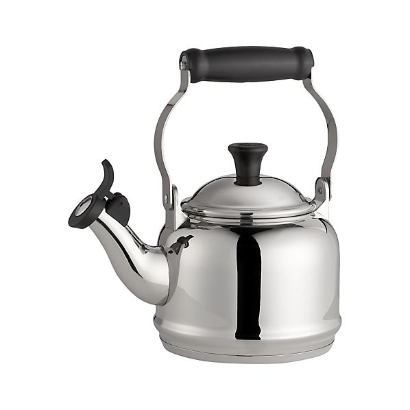 Le Creuset® 1.25 qt. Demi Stainless Steel Whistling Teakettle