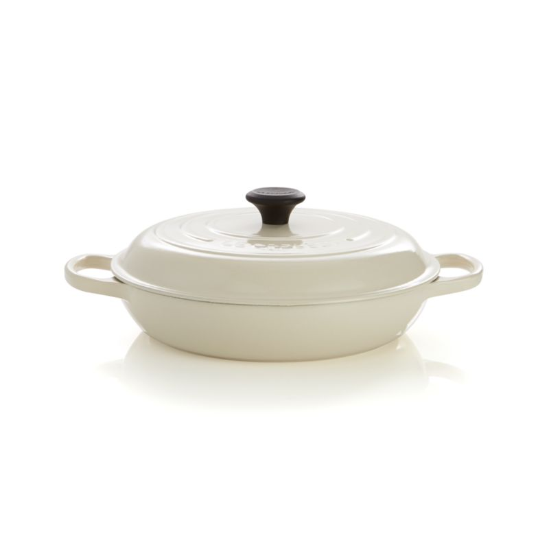 Le Creuset® Signature 3.5 qt. Cream Everyday Pan