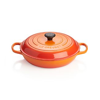 Le Creuset ® Signature 3.5-qt. Flame Everyday Pan