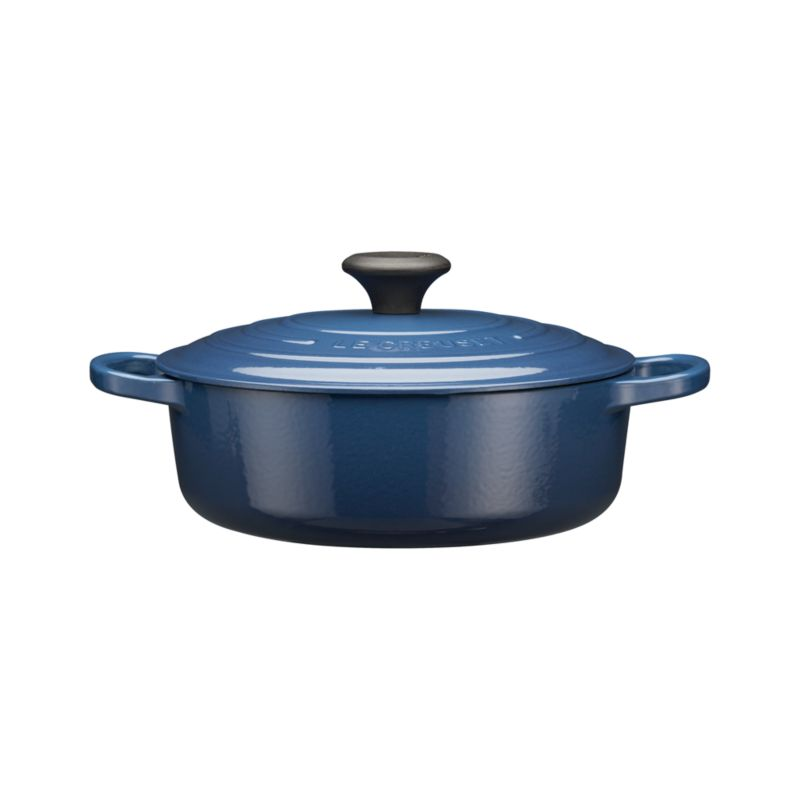 Le Creuset® 3.5 qt. Wide Round Ink French Oven with Lid