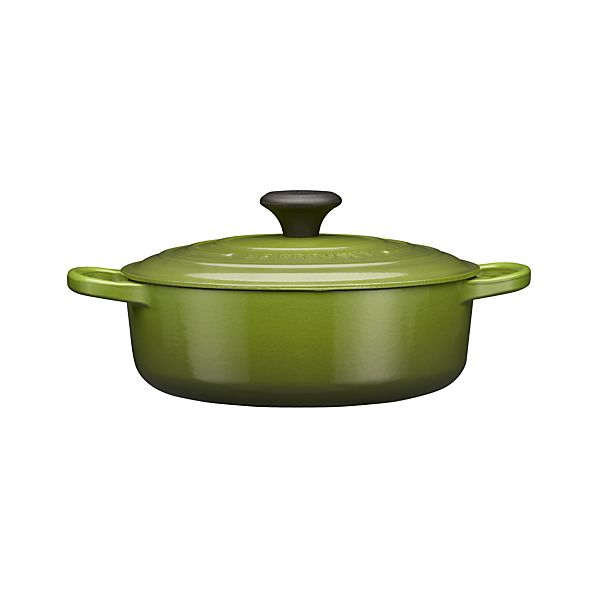Le Creuset® 3.5 qt. Wide Round Spinach French Oven with Lid
