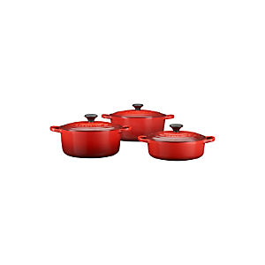 Le Creuset® Signature Cherry French Ovens with Lids
